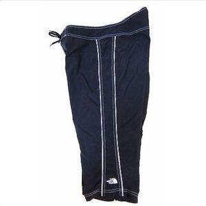 The North Face Capri Pants Black Nylon Quick Dry